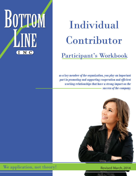 The Individual Contributor March 2014