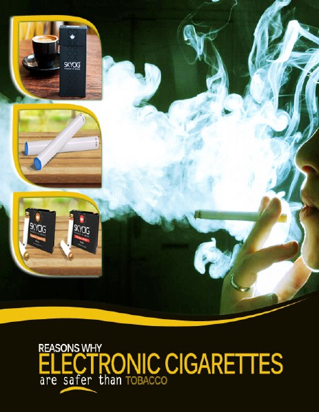 Reasons Why Electronic Cigarettes Are Safer than Tobacco I