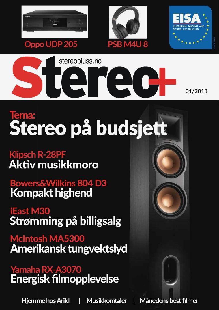 Stereopluss Utgave 1 - 2018