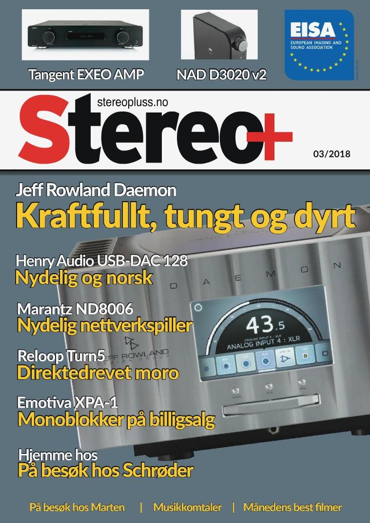Stereopluss Utgave 3 - 2018