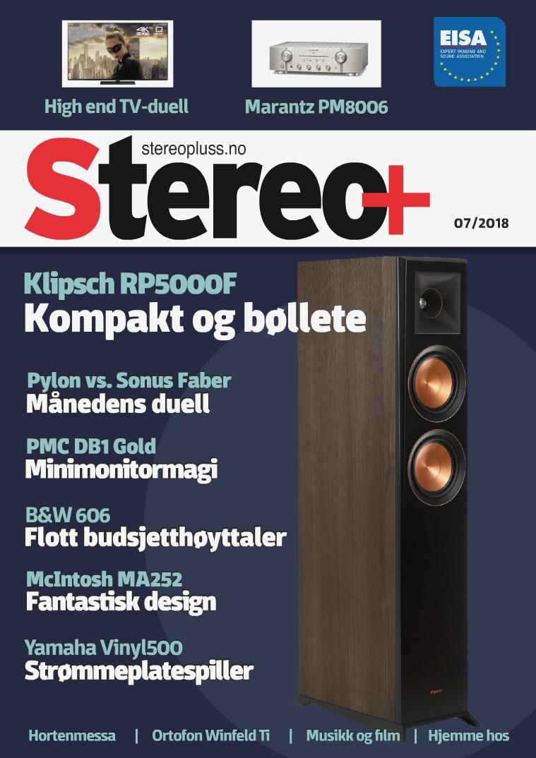 Stereo+ Utgave 7 - 2018