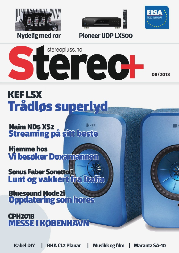 Stereo+ Stereopluss 8 2018