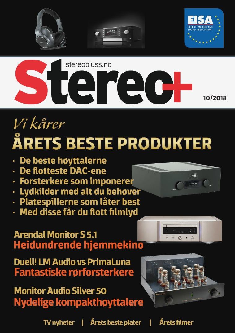 Stereopluss Utgave 10 - 2018