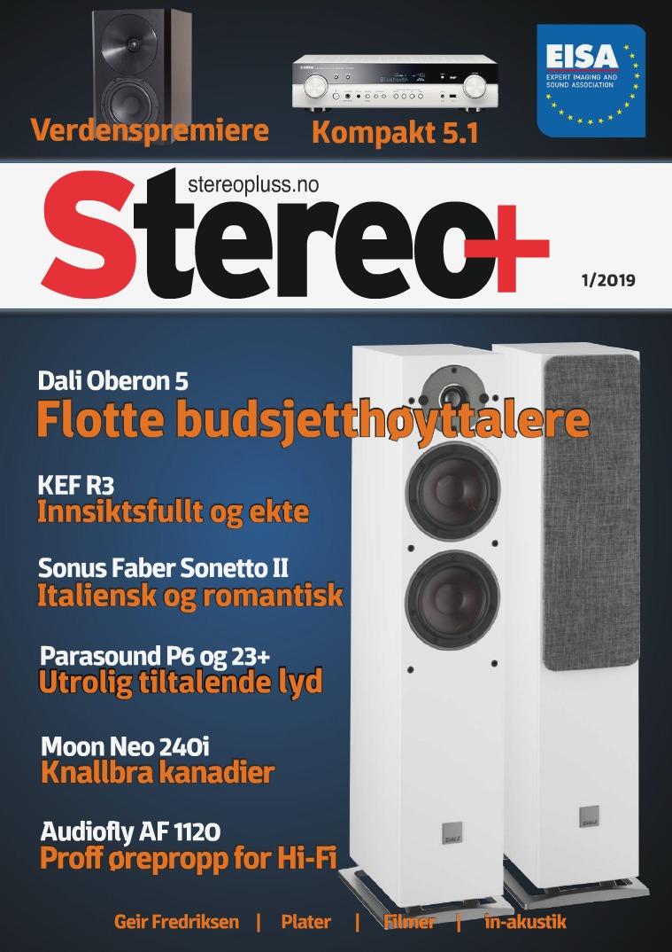 Stereopluss Utgave 1 - 2019