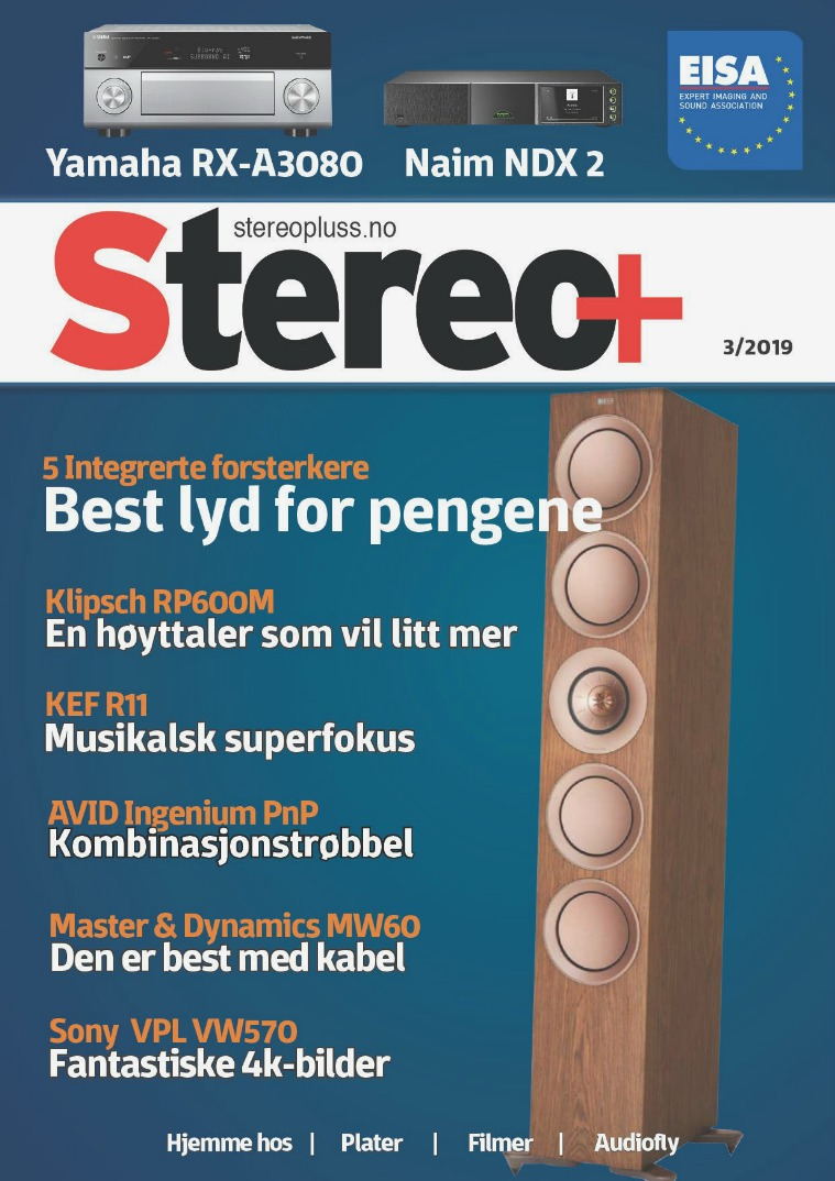 Stereo+ Stereopluss 3 2019