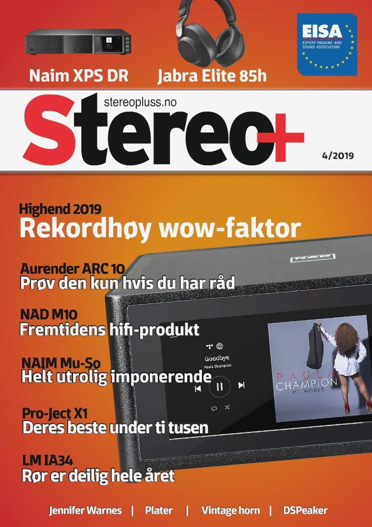 Stereopluss Utgave 4 - 2019