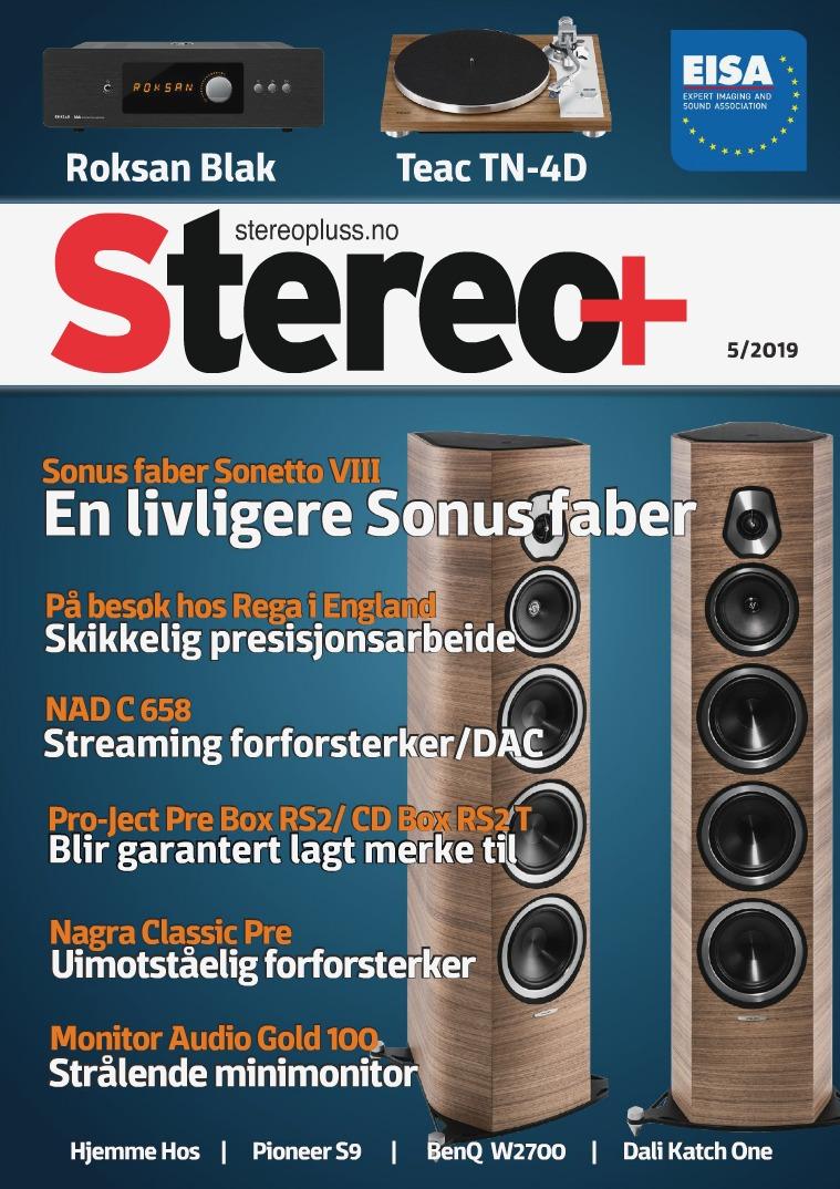 Stereopluss Utgave nr 5 - 2019
