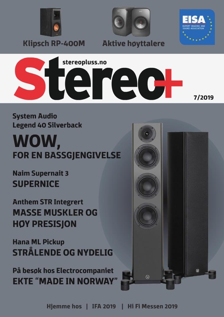 Stereopluss Utgave nr 7 - 2019