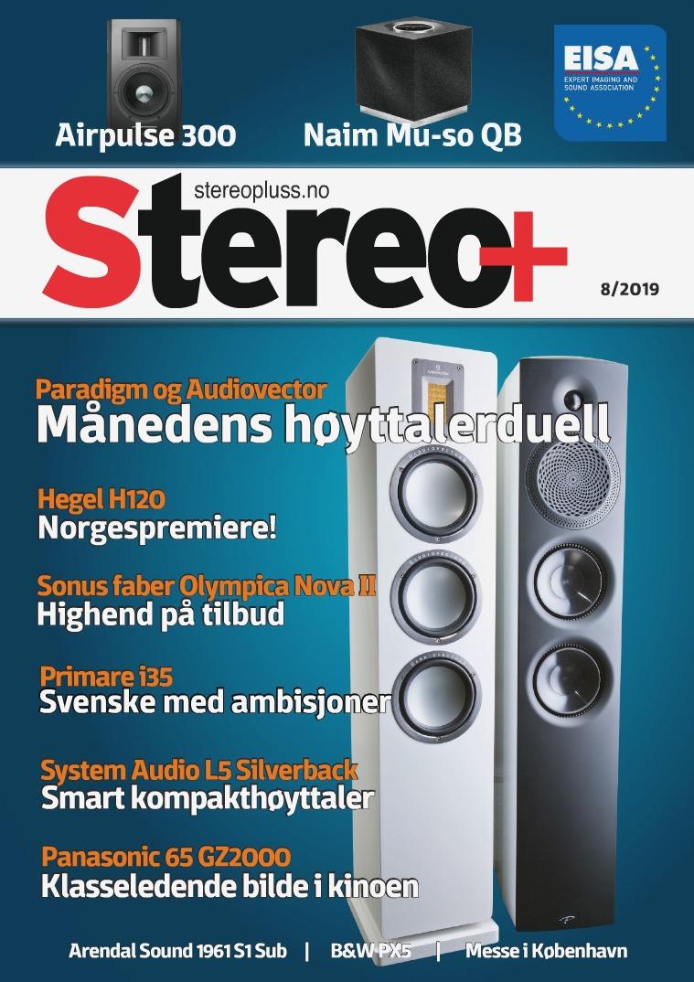 Stereopluss Utgave nr 8 - 2019