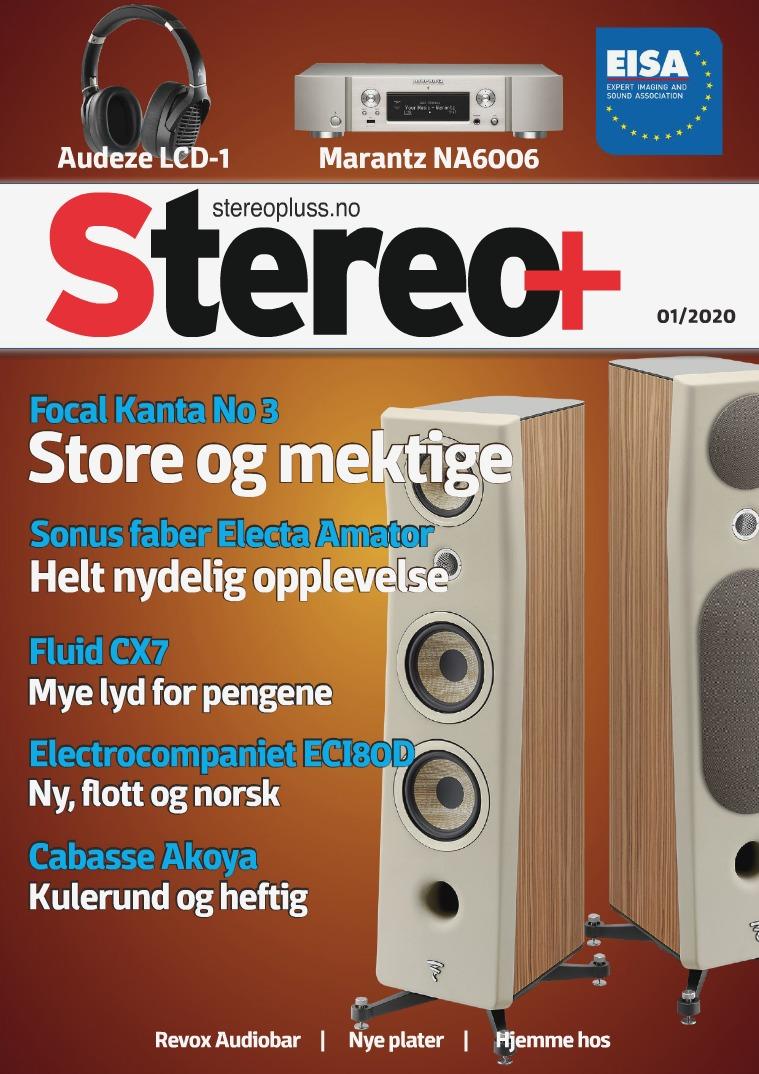 Stereopluss Utgave nr 1 - 2020