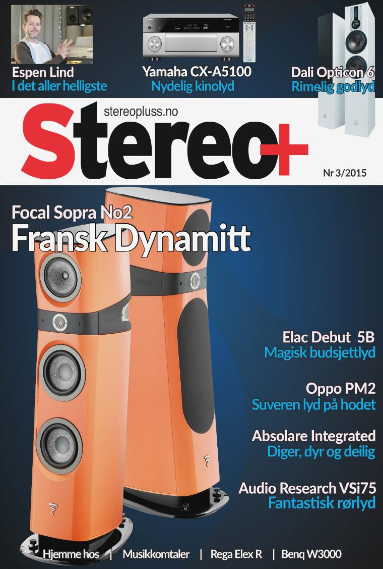 Stereopluss Nr 3 - 2015
