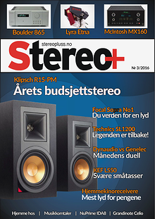 Stereo+ Stereopluss 3 2016