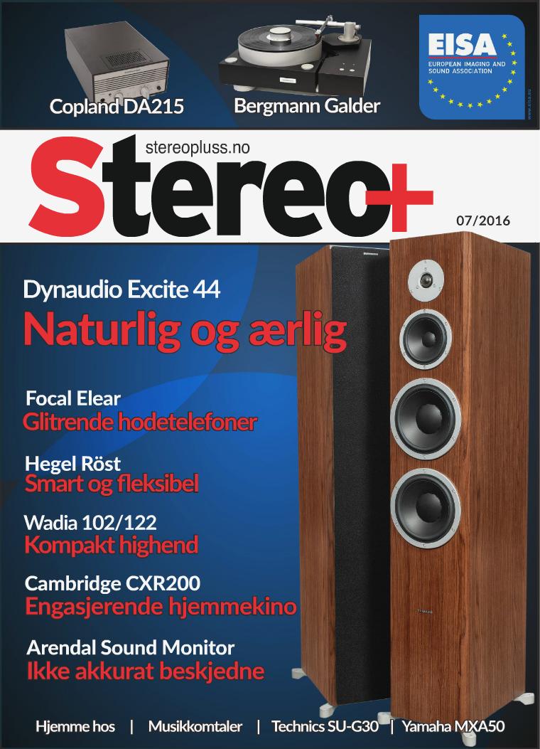 Stereopluss Nr 7 - 2016