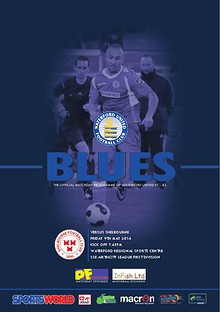 Blues - Waterford United FC Programme