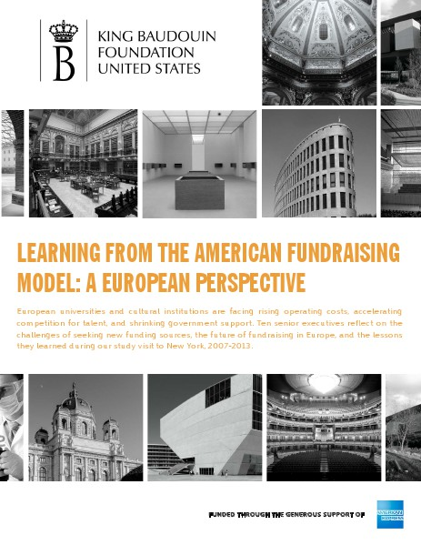 Learning from the American Fundraising Model: A European Perspective March 2014