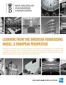 Learning from the American Fundraising Model: A European Perspective
