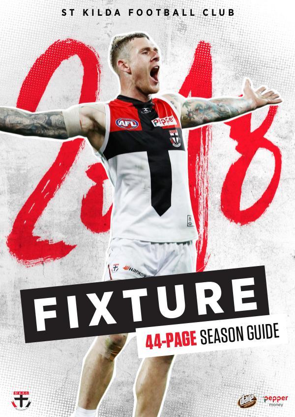 St Kilda Football Club - 2018 Season Guide 2018-Fixture-mag-3