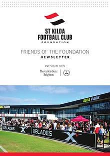Friends of the Foundation Newsletter