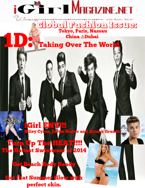 IGirl Magazine 1 Direction Double Cover