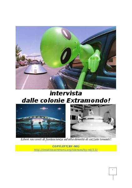 intervista dalle colone extramondo
