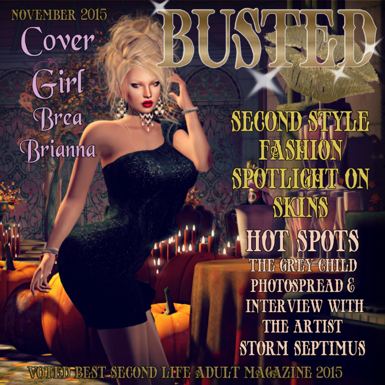BUSTED NOVEMBER ISSUE NOVEMBER ISSUE