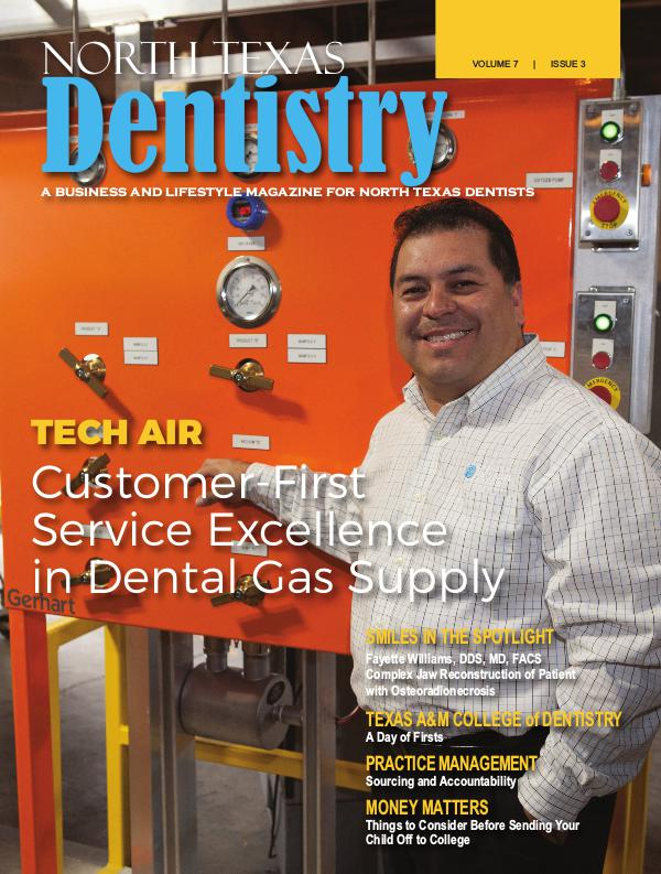 North Texas Dentistry Volume 7 Issue 3 NTD 2017 ISSUE 3 DE