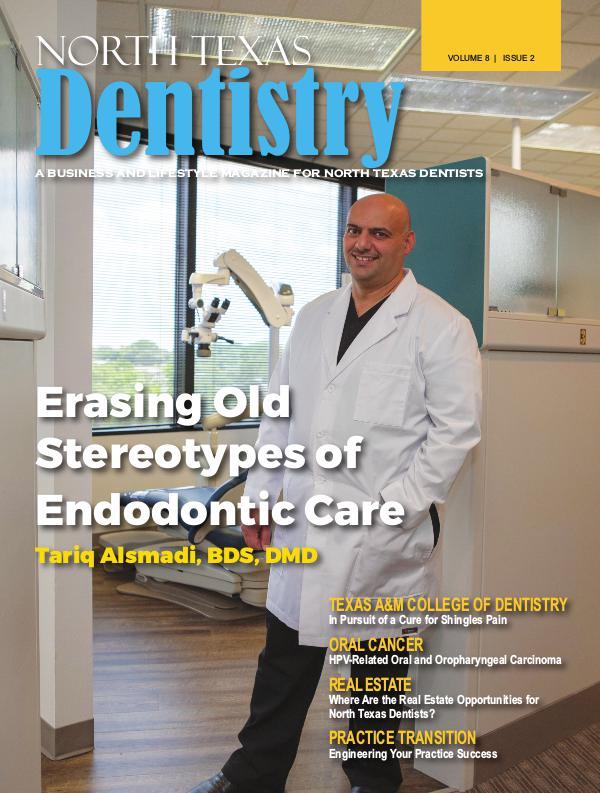 North Texas Dentistry Volume 8 Issue 2 2018 ISSUE 2 DE