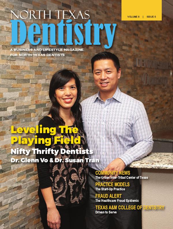 North Texas Dentistry Volume 8 Issue 5 2018 ISSUE 5 DE