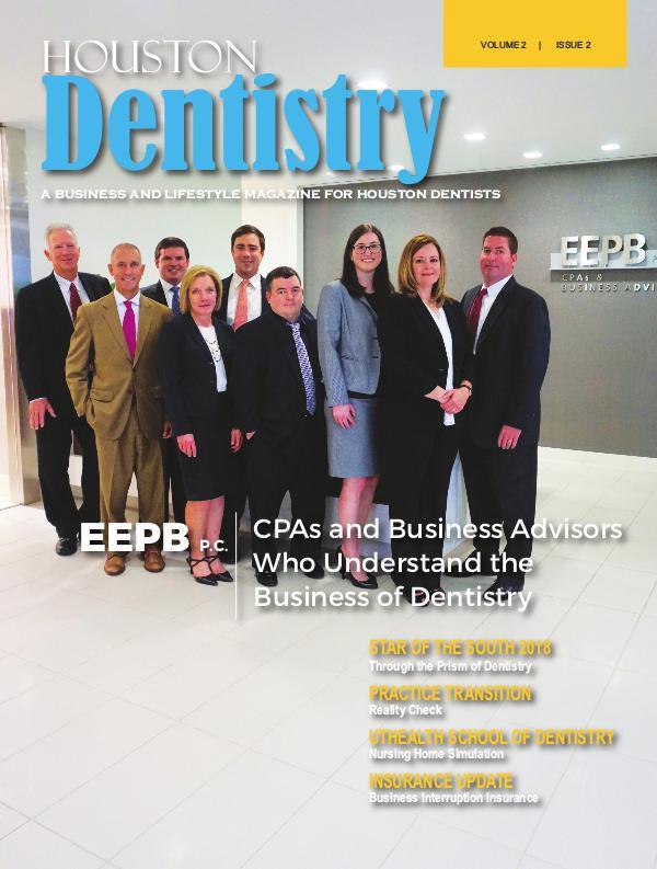 Houston Dentistry Volume 2 Issue 2 2017 HOUSTON ISSUE 2 DE