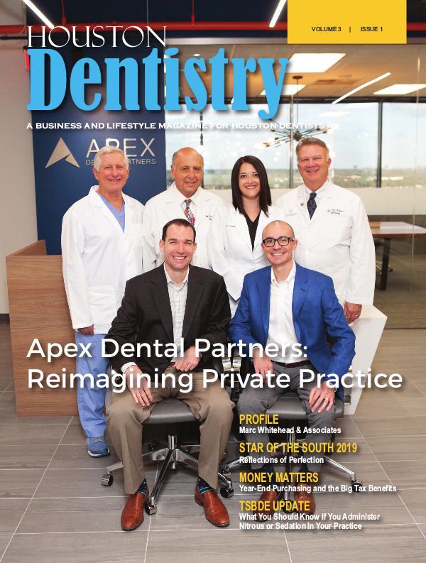 Houston Dentistry Volume 3 Issue 1 2018 HOUSTON ISSUE 1 DE