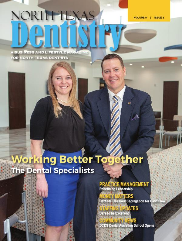 North Texas Dentistry Volume 9 Issue 3 2019 ISSUE 3 DE