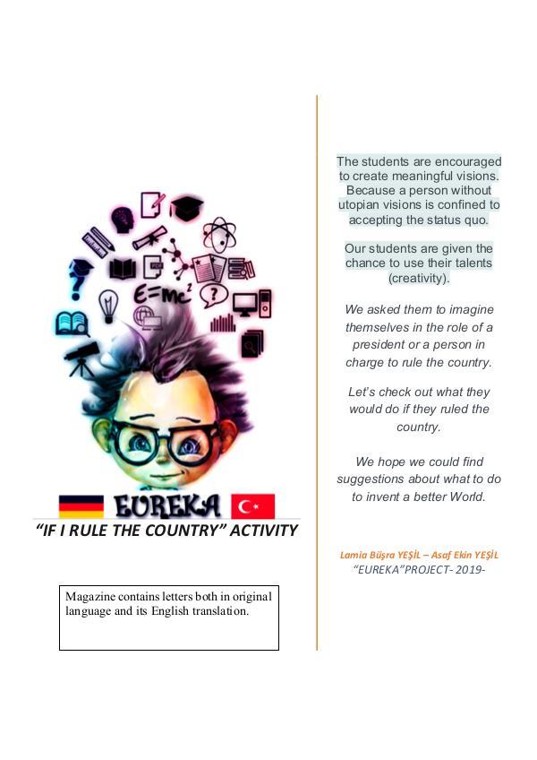 EUREKA Project - Student Essays STUDENT ESSAYS