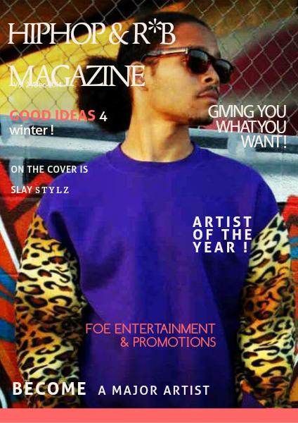 HIPHOP & R&B MAGAZINE Vol #2 / Dec 2014
