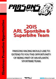 Parsons Racing Sponsorship