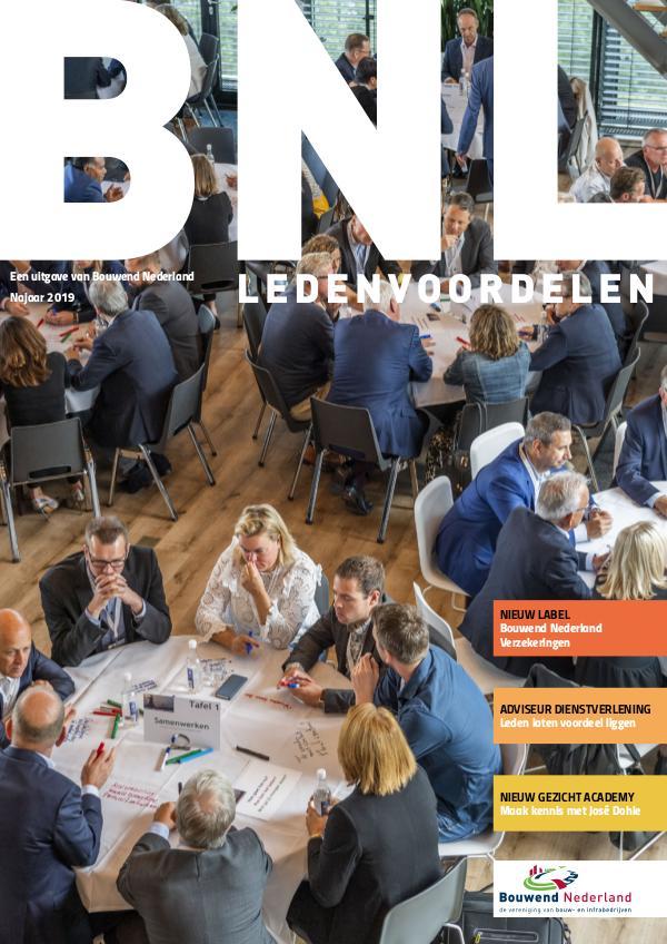 BNL Ledenvoordelen Najaar 2019