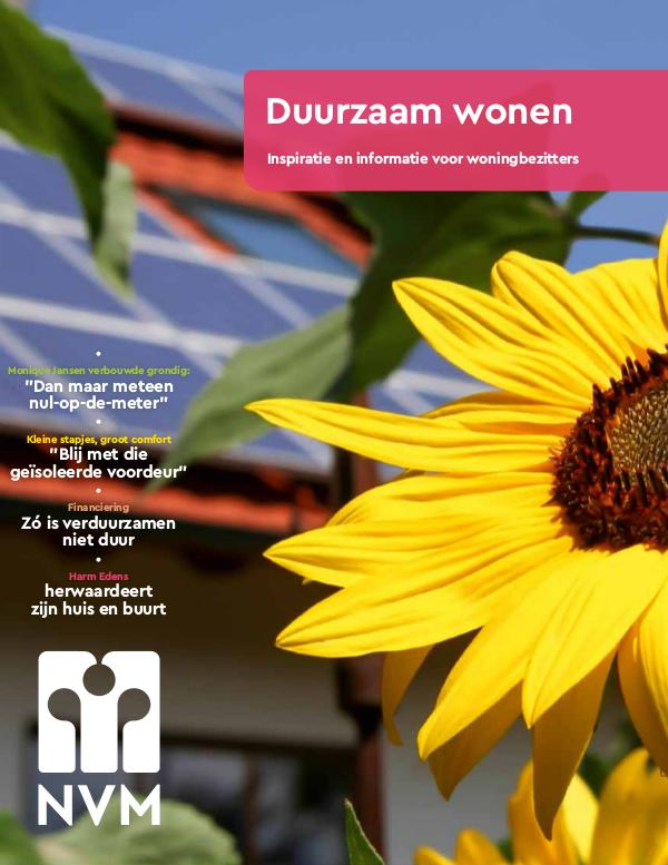 Duurzaam wonen/De Vries Robbé
