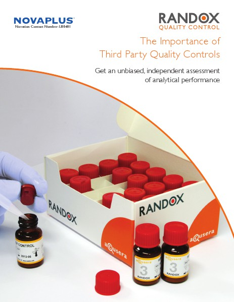 The Importance of Third Party Controls - LT324USA MAR 2014