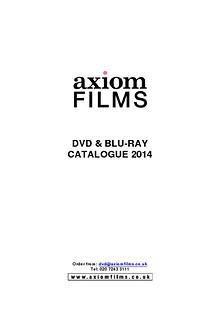 Axiom Films Catalogue 2014