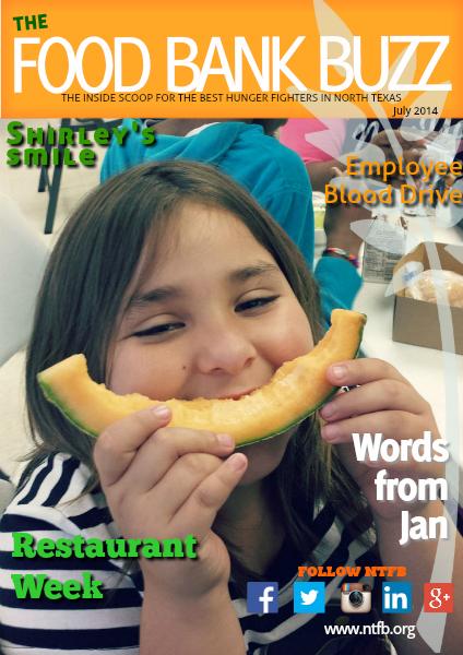 Food Bank Buzz July 2014