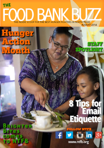 Food Bank Buzz August 2014