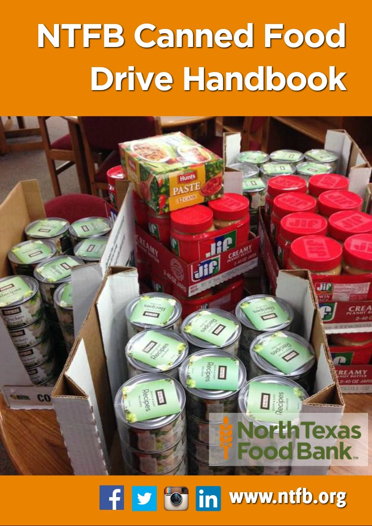 North Texas Food Bank Canned Food Drive Handbook