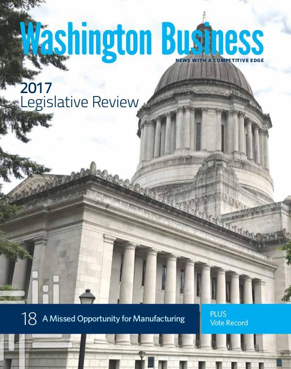 Washington Business Fall 2017   Legislative Review & Vote Record