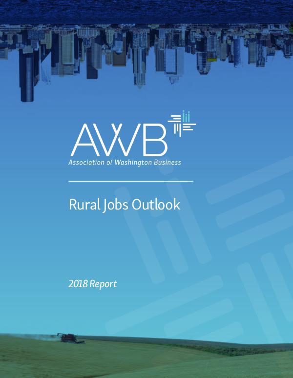 Washington Business 2018 AWB Rural Jobs Outlook