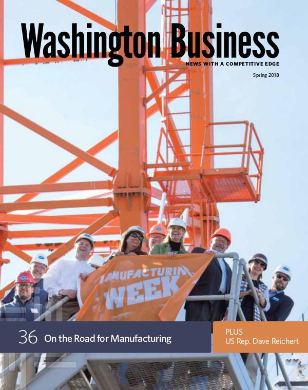 Washington Business Spring 2018 | Washington Business