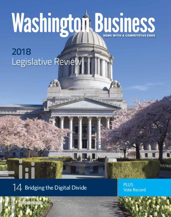 Washington Business Fall 2018   Legislative Review & Vote Record