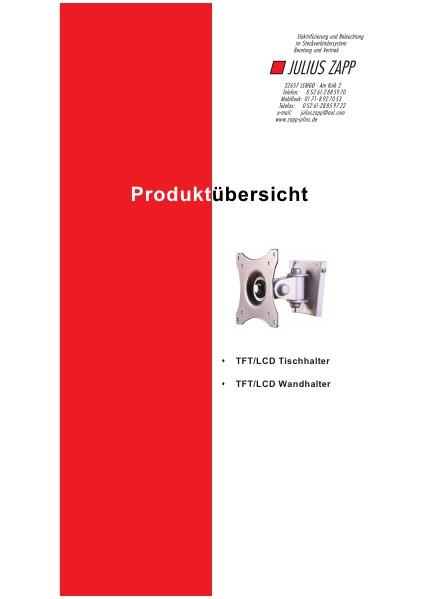 Zapp Katalog TFT Katalog