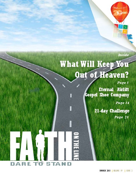Faith On The Line - Stress, Stress Go Away Vol 19