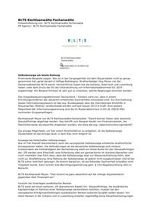 BLTS Rechtsanwälte Fachanwälte Regensburg Pressemeldungen