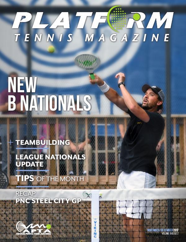 Platform Tennis Magazine Volume 19 Issue 2