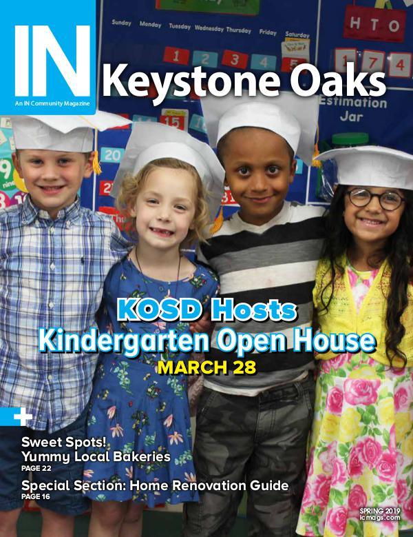 IN Keystone Oaks Spring 2019
